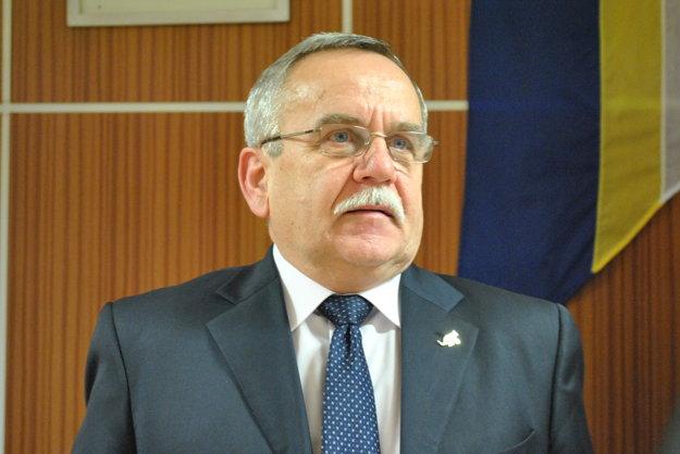 Primátor Veľkého Šariša František Bartko.