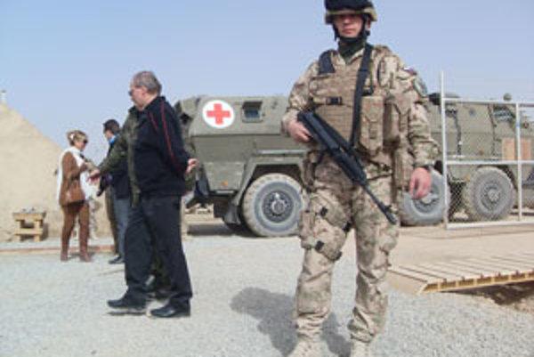 Slováci mali v Afganistane problémy.