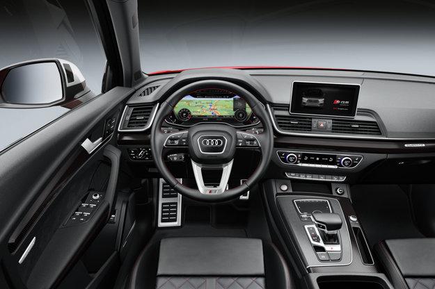 Pohľad do interiéru druhej generácie Audi SQ5