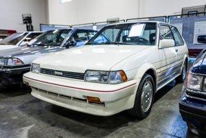 Toyota Corolla FX16 z roku 1987 je prvým vozidlom japonskej automobilky vyrobeným v USA