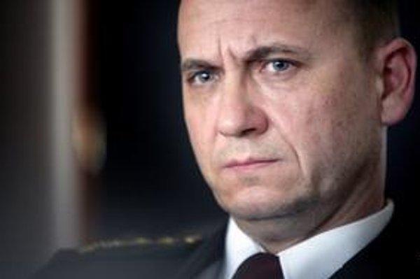 Policajný prezident Jaroslav Spišiak.