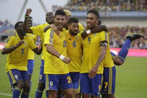 Gabončania získali v otváracom zápase bod.