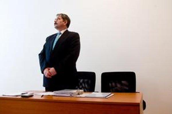 Disciplinárne stíhaný sudca Gavalec.