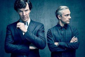 Britský seriál Sherlock.