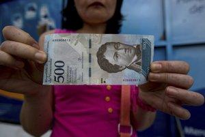 Nová venezuelská bankovka.