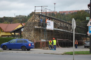 V Sabinove opäť chcú investovať do opravy hradieb.