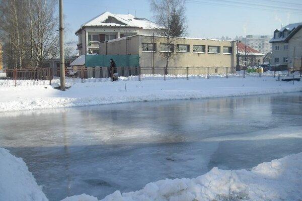 Korčuľovať sa môžete prísť aj do Krásna nad Kysucou.
