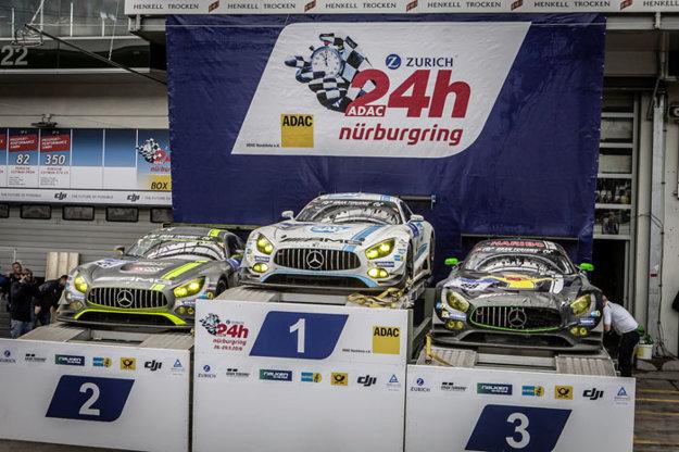 24-hodinové preteky ADAC Zürich na okruhu Nürburgring boli v roku 2016 pre model Mercedes AMG-GT3 mimoriadne úspešné.