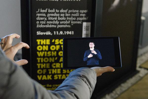 Výklad pre nepočujúcich v múzeu sprístupnili 20. januára.