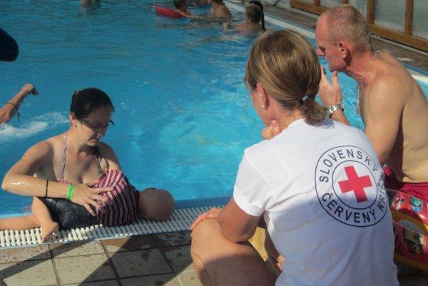 Levický územný spolok SČK sa angažuje vo viacerých projektoch. Vlani si takto pripomenuli Svetový deň prvej pomoci.