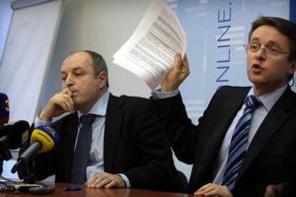 Stanislav Žiačik (vľavo) asi už dlho šéfom Tiposu nebude.