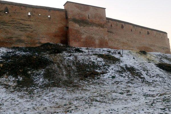 Mestské hradby v Trnave.