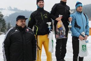 Zľava: Jozef Grapa, Peter Ivánek, Miroslav Gajdošík a Peter Drška.