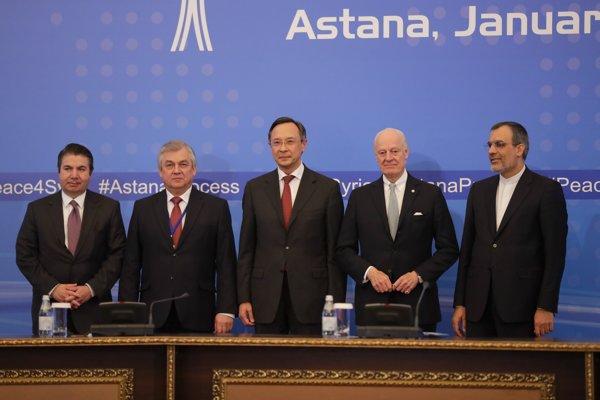 Schôdzka v Astane sa skončila a o problémoch spojených s konfliktom v Sýrii sa bude ďalej rokovať od 8. februára v Ženeve.