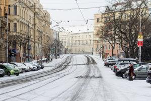 Takto vyzerala Bratislava začiatkom januára.