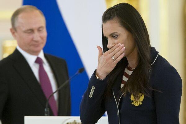 Isinbajevová tvrdí, že ruský šport bol vždy čistý.