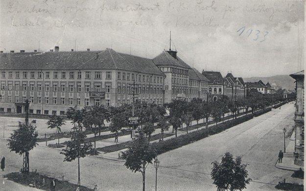 Policajné riaditeľstvo v roku 1933.