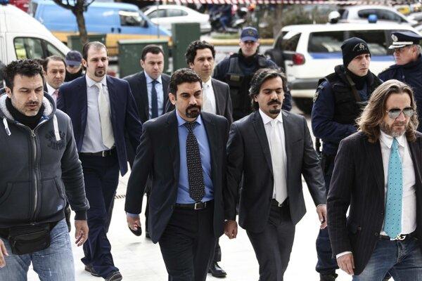 Tureckí vojaci obvinení z účasti na štátnom prevrate v Turecku.