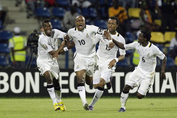 Futbalisti Ghany, ilustračná snímka.