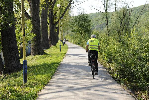 Cyklistická infraštruktúra. Počas nasledujúcich mesiacov ju vylepšia.