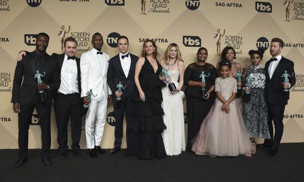 Diverzita víťazov počas SAG Awards bola neprehliadnuteľná