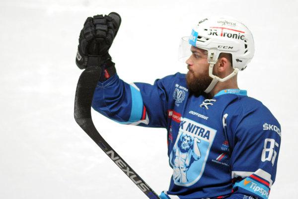 Marek Slovák si výkonmi v drese Nitry vyslúžil reprezentačnú nomináciu, Martinčanom strelil dva góly.