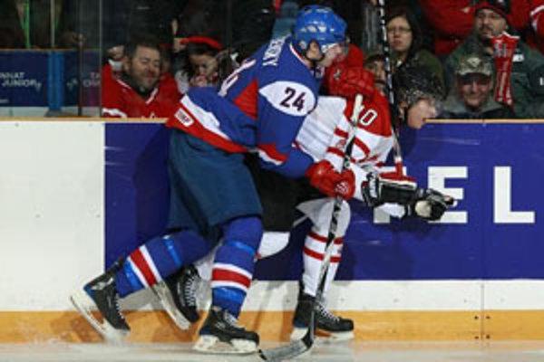 Marek Viedenský sa opäť viac priblížil svojmu snu - zahrať si v NHL.