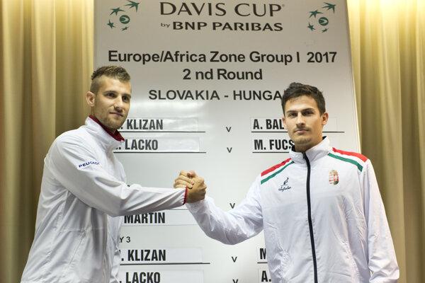 Martin Kližan odštartuje daviscupový súboj proti Maďarsku.