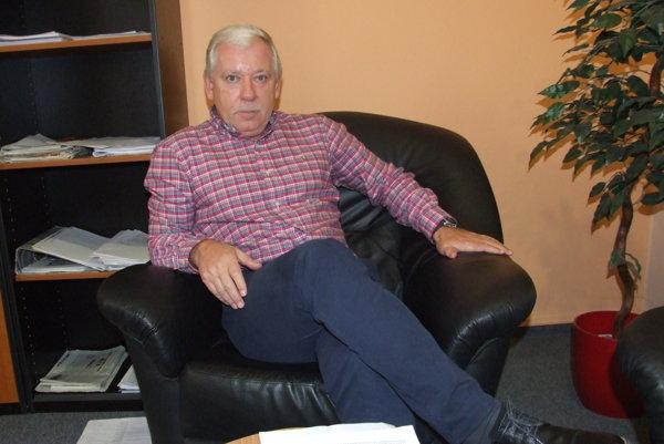 Jozef Valocký ešte ako riaditeľ nitrianskej nemocnice.
