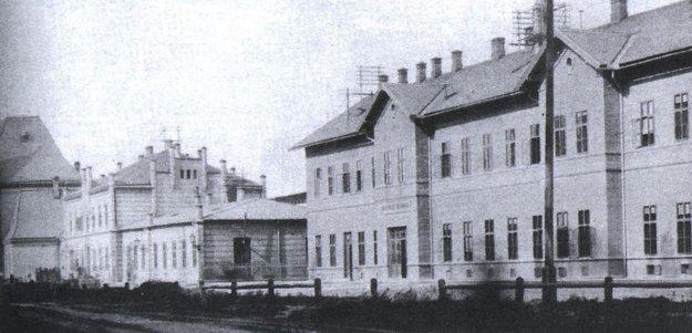 Železničná stanica v Košiciach.