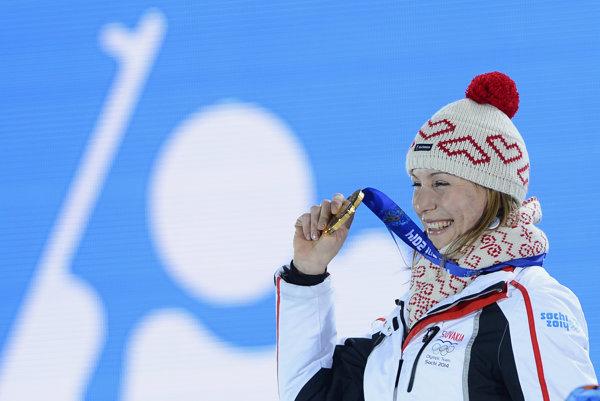 Na olympijských hrách v Soči získala pre Slovensko medailu iba Anastasia Kuzminová.