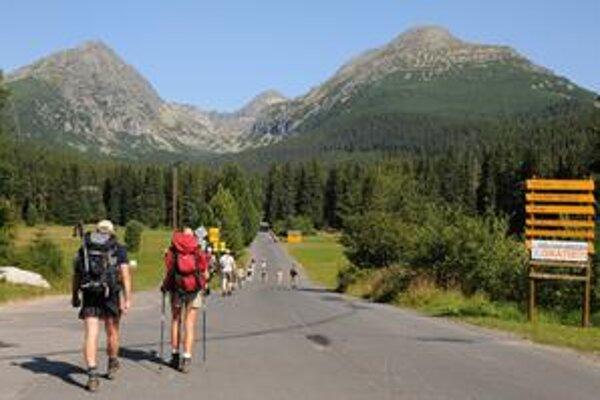 Rusi dávajú pred Tatrami prednosť Alpám.