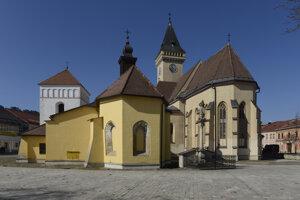 Sabinov – historické centrum mesta.