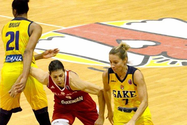 Nechýba v Top 10. Basketbalistka Zuzana Žirková.