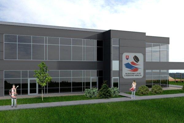 Slovenský zväz ľadového hokeja plánuje začať svýstavbou športových centier už vtomto roku. Takto nejako by haly mali vyzerať.