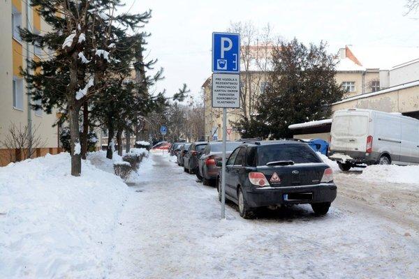 Rezidentské miesta. Zmeny vparkovaní radnica ešte nevysvetlila. Platia od januára, vysvetlia ich vmarci...