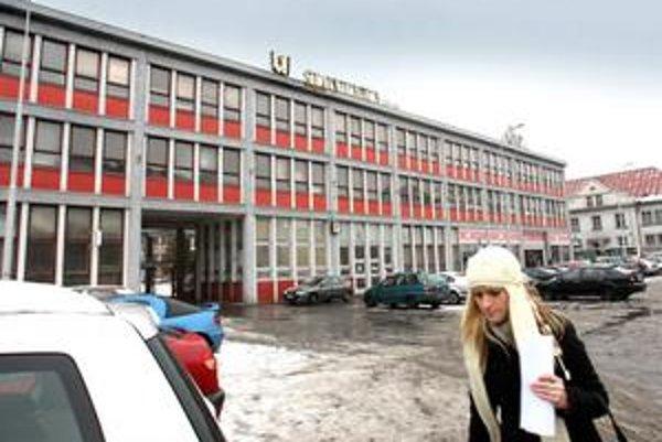 Areál Slovenky, kde má vyrásť komplex s hotelom.