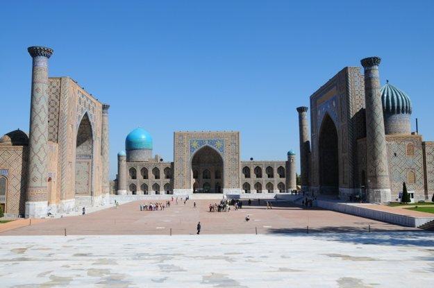 Námestie Registan patrí k symbolom celého mesta aj krajiny.