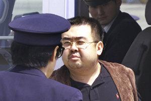 Nevlastný brat severokórejského vodcu Kim Čong-nam v roku 2001.