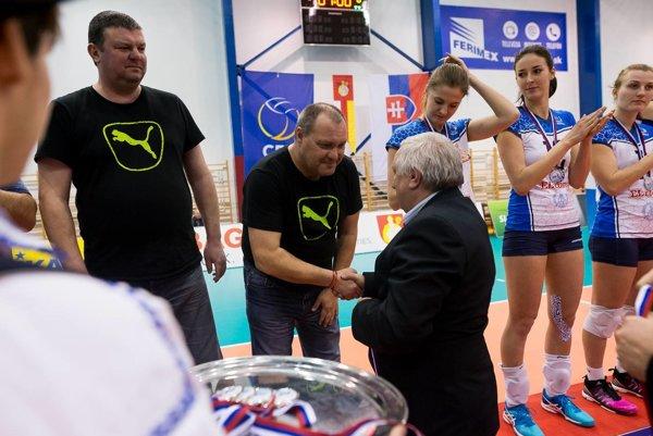 Tréner Nitry Martin Rašner bol s vystúpením svojho celku spokojný.