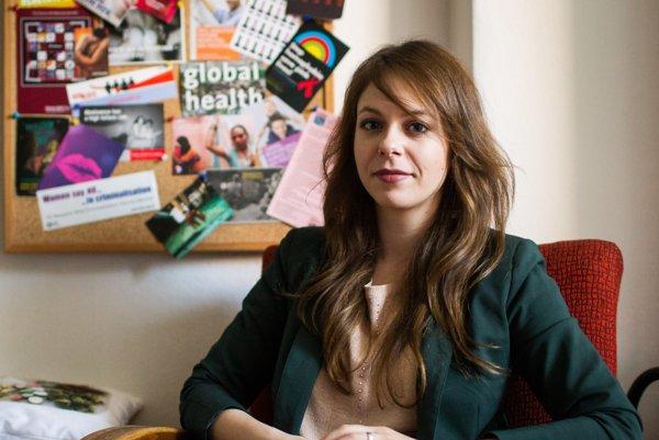 Predsedníčka občianskeho združenia Odyseus Iveta Chovancová.