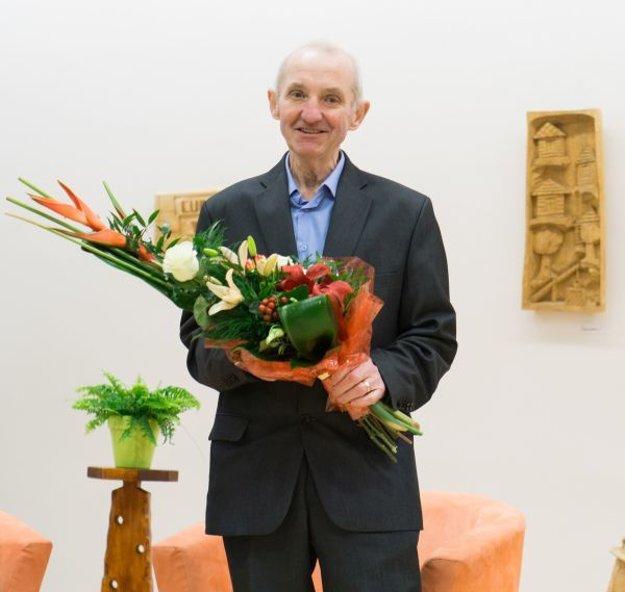 Jubilant Tibor Lešš.