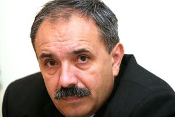 Predseda HZD Jozef Grapa.