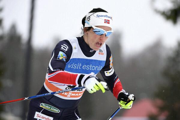 Marit Björgenová sa tešila z pohodlného víťazstva.