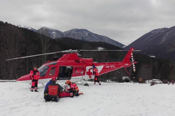 Leteckí záchranári nemohli zasahovať zo vzduchu.