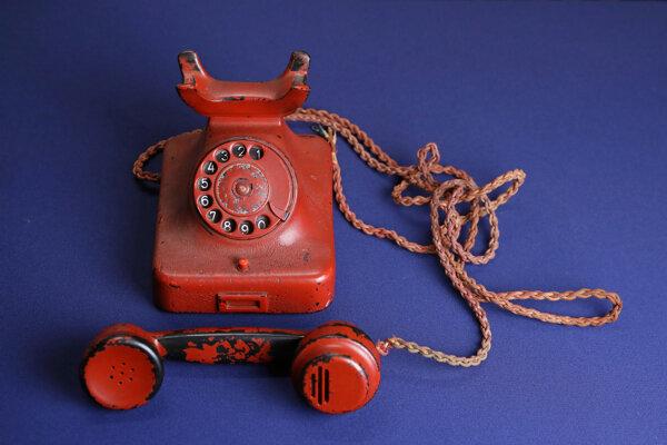 Hitlerov osobný telefón.