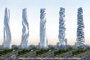 V Dubaji chcú postaviť mrakodrap s otočnými poschodiami