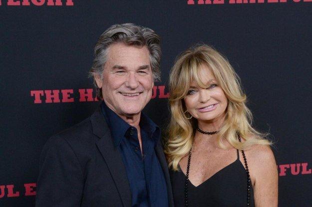 Kurt Russell a Goldie Hawn.