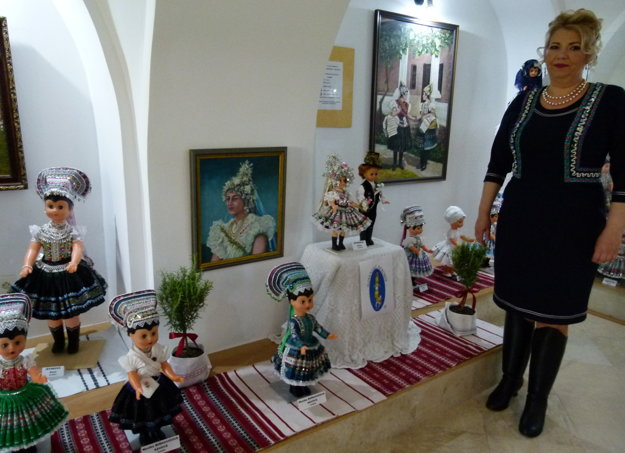 Na tejto výstave ustanovila slovenský rekord.