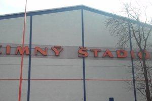 Zimný štadión v Liptovskom Mikuláši.